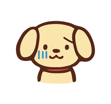 아이콘 · 개 · 슬픔