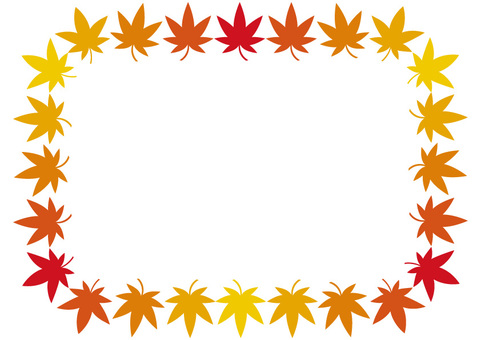 Frame (autumn leaves)