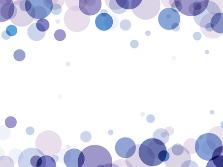 "Bubble frame ""Grape"""