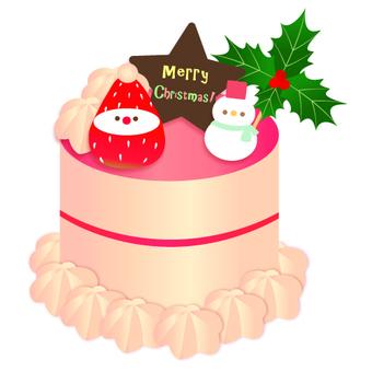クリスマスケーキ ストロベリー