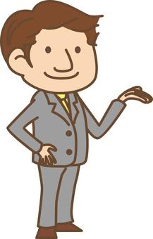 Suit men (information)