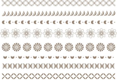シンプルな飾り罫11
