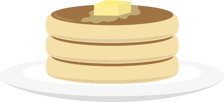 Hot cake, pancake