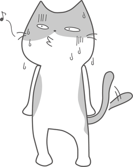Fuku cat catch-up cat