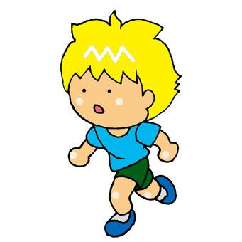 Runner Caucasian