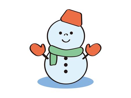눈사람 _ 미소 _ 아이콘 _snowman