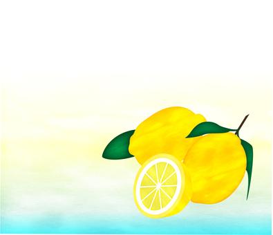 レモン_水彩風