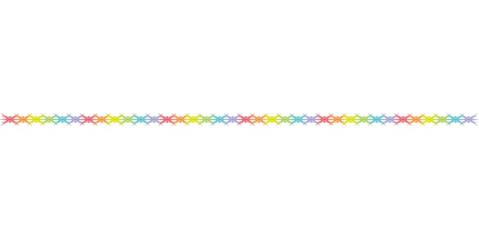 Simple Line Colorful 31