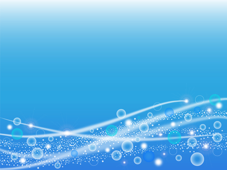 Water bubble background illustration