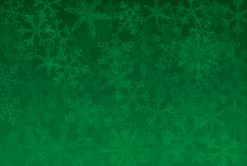 Snow background _ green