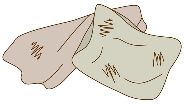 Garbage separation / boro cloth