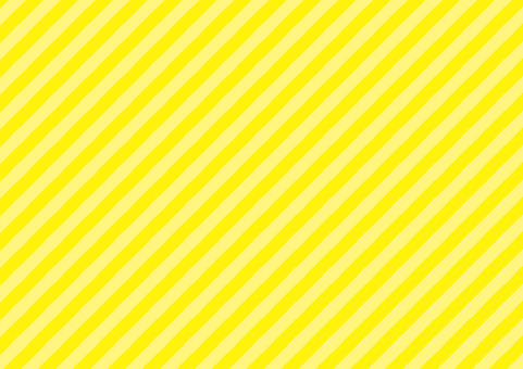Genki Yellow ☆ diagonal striped background material