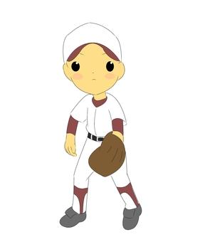 Baseball boy · english