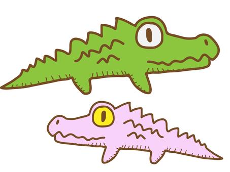 Stuffed animal (crocodile)