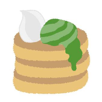 팬케이크 (가루 차)