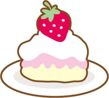 Short cake (strawberry cake)