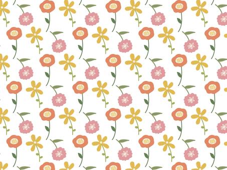 꽃 배경 패턴