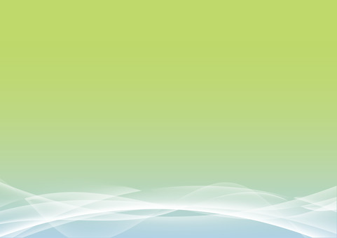Fresh green wave