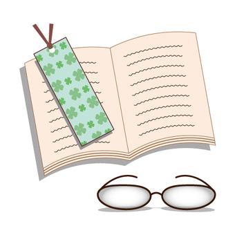 閱讀的圖像(與眼鏡類型)