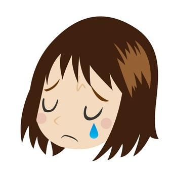 Sad girl up