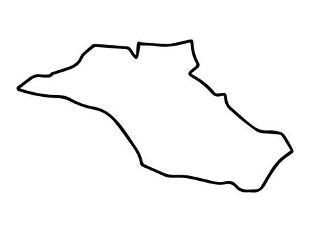 Miyamae-ku (Kawasaki City, Kanagawa Prefecture) simple map