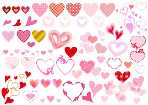 발렌타인 소재 100