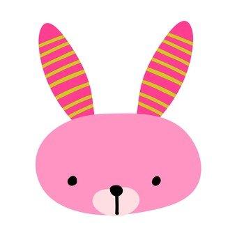 Shimashima ear rabbit