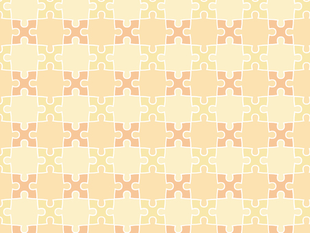 ai Orange puzzle background with swatch