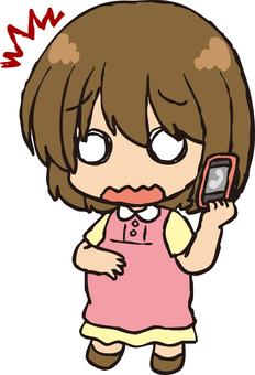 Pregnant woman (Phone 3)