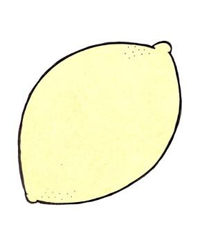 레몬 테두리 _ 선 없음