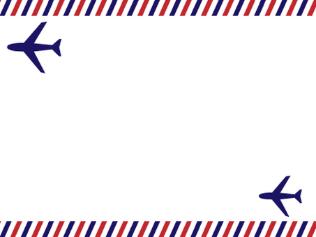 French style air mail frame