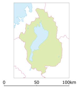 Shiga prefecture map