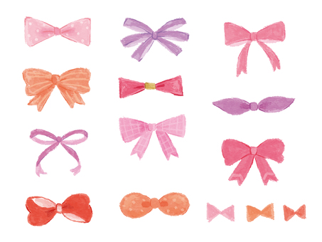 Assortment of ribbons