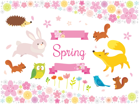 Spring illustrations collection (2)