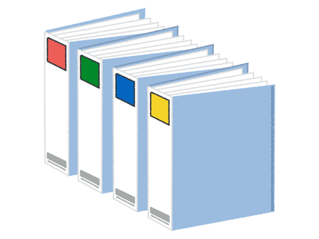 Binder filing set