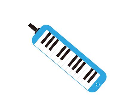 Pianica Blue