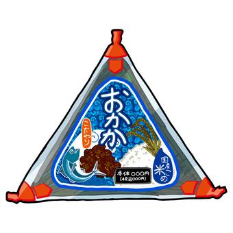 Convenience store onigiri / funny