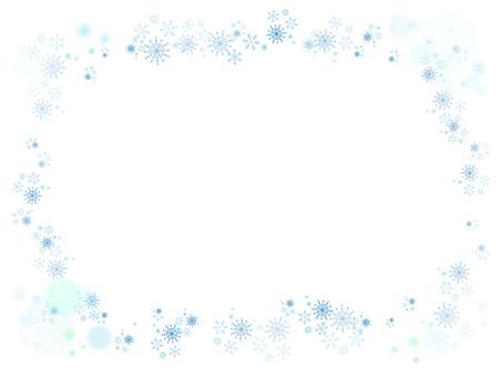 Snow crystal · Frame 1