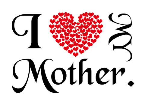 カード - 我愛我的母親
