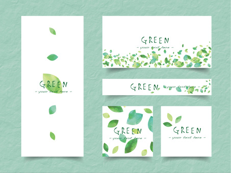 New green frame set ver 09