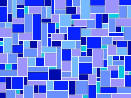 모자이크 파란색 배경 소재