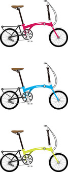 Bicycle 3 foldable