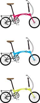 Bicycle 3 folding type