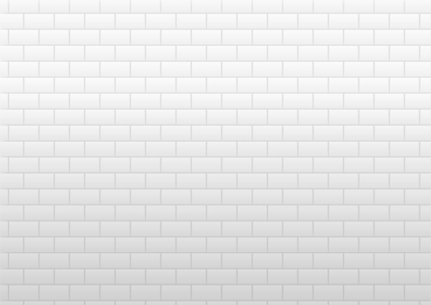White brick wall image background material