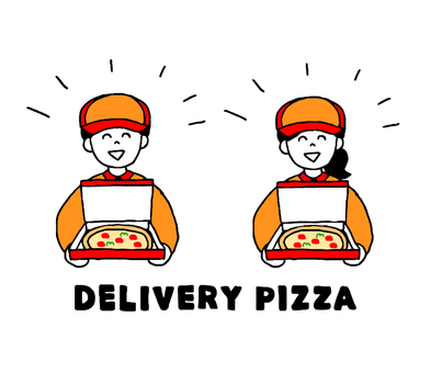 Delivery pizzeria (simple)