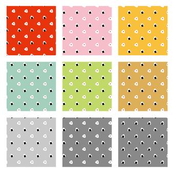Omusubi pattern