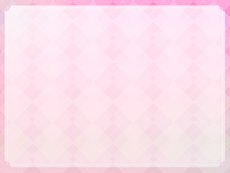 Clean wallpaper with pink frame