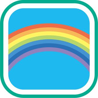 Weather icon Rainbow