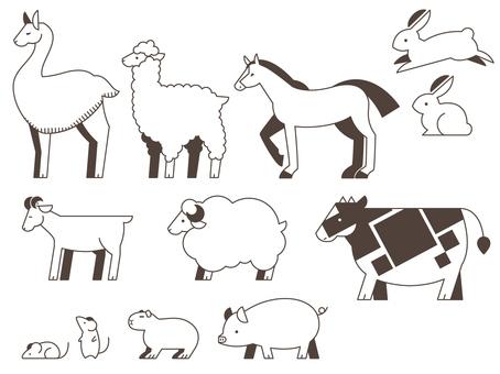 動物類的Makiba