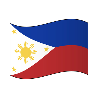 Flag of the Philippines / flapping